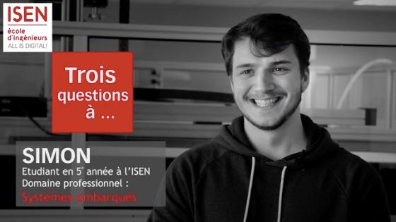 étudiant, domaine professionnel, ISEN, systèmes, numériques, embarqués, Brest