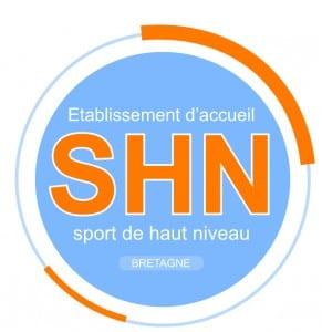 Logo SHN Sport de Haut Niveau en Bretagne.